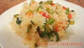 Рис с овощами Паприкаш