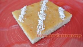 Турецкий десерт в сахарном сиропе