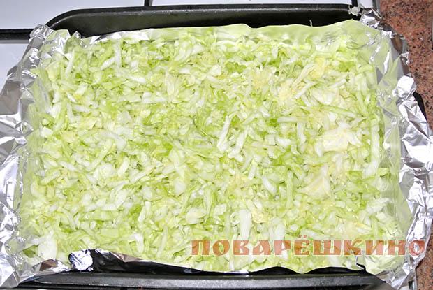 Вкусная капустная запеканка