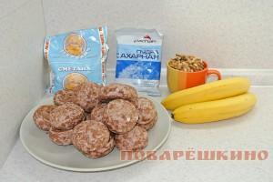 Торт из пряников без выпечки: ингредиенты