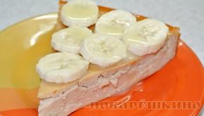 Творожно-банановая запеканка