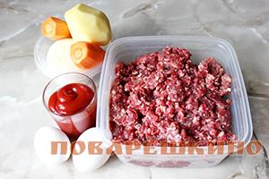 Мясные тефтели без риса