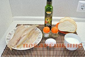 Рыбные диетические котлеты из минтая