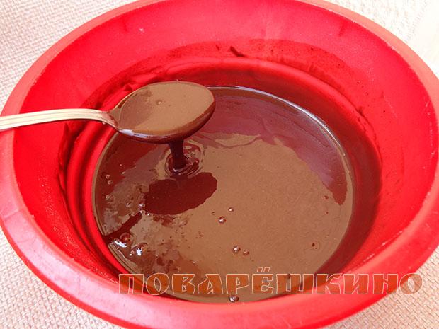 Постные шоколадные маффины с тахини