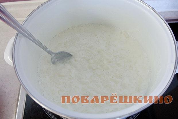 Вкусная рисовая каша
