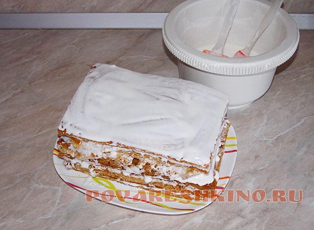 Медовый торт рецепт домашний простой