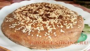 Хлеб ржаной на кефире в мультиварке