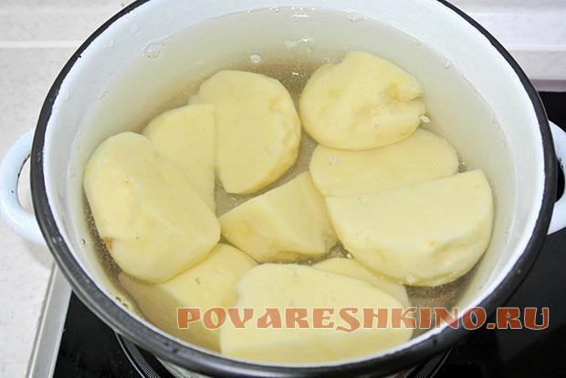 Картофельная запеканка как в садике