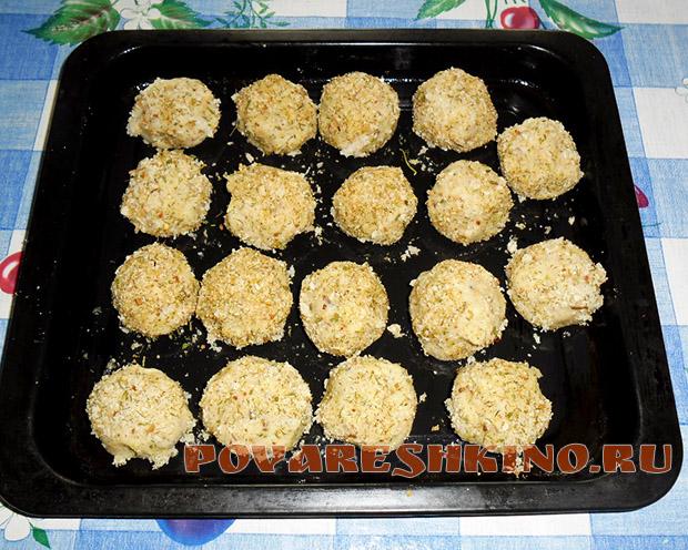 Крокеты картофельно-рыбные