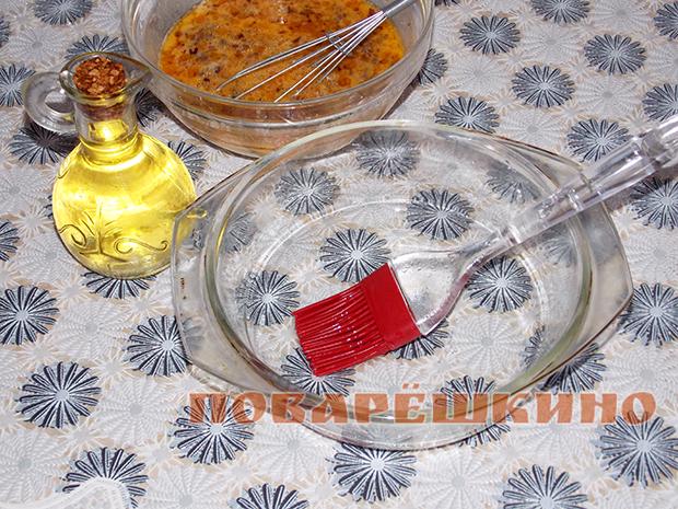 Омлет по-испански в духовке