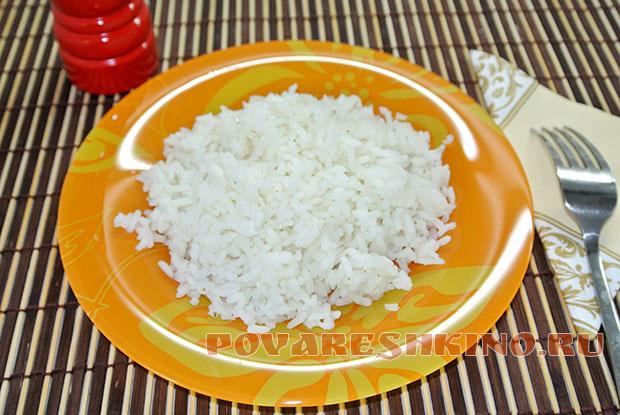 Простой гарнир из риса