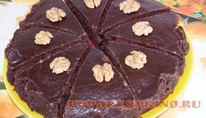 Шоколадные пирожные на скорую руку