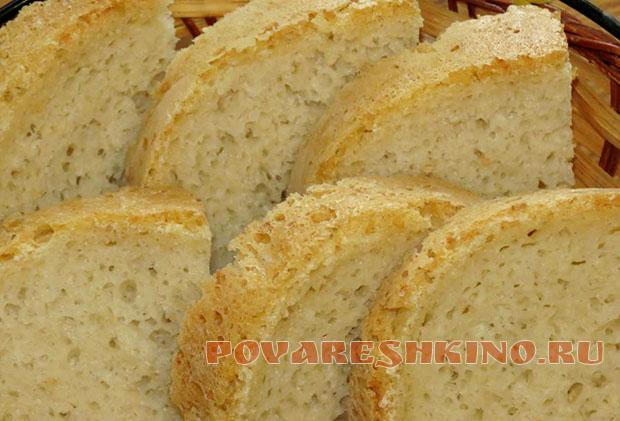 Канадский хлеб с кунжутом и лимоном в хлебопечке