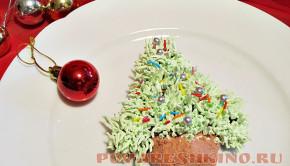 Пирожное новогоднее Ёлочка