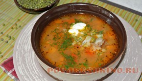 Вкусный суп с машем (машхурда)