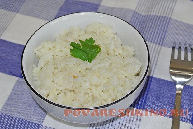 Как варить рис в мультиварке?