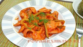 Сосиски тушеные в томатной пасте