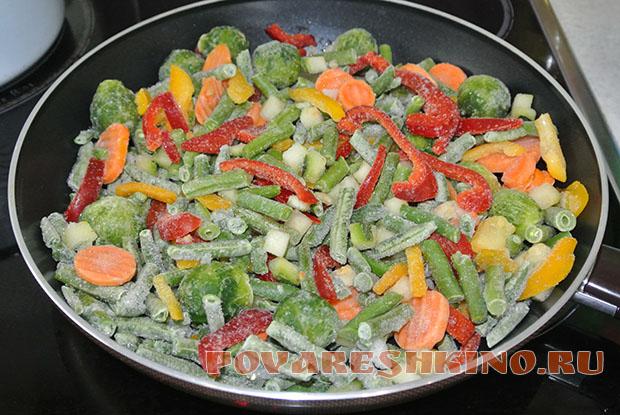 Как готовить замороженные овощи – очень быстрый способ!