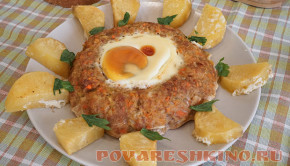 Второе блюдо из фарша Царский обед
