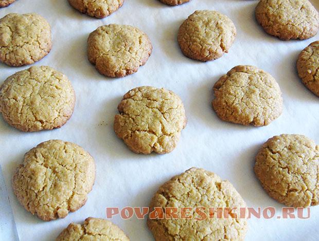 Горчичное печенье (постное)