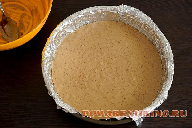 Пирог из варенья со сметанным кремом