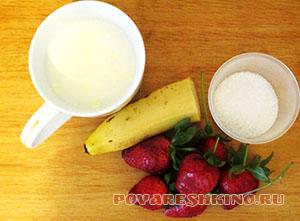 Полезный молочно-фруктовый коктейль