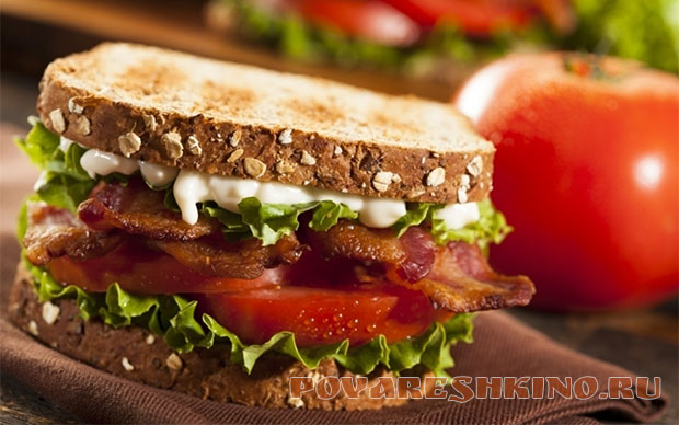 Рецепты бутербродов на завтрак