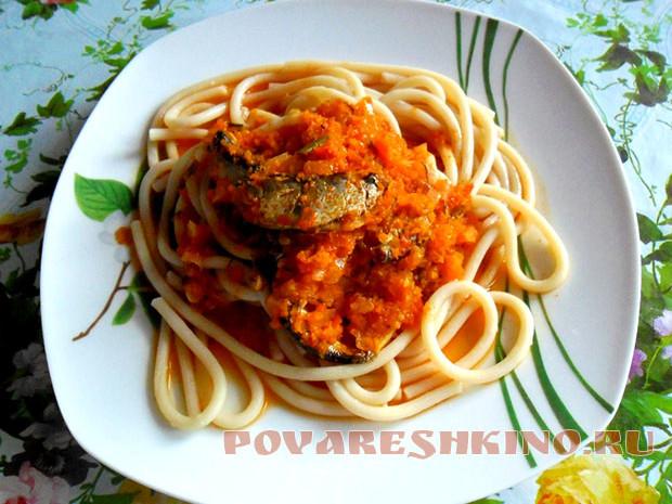 Килька в томатном соусе - рецепты в домашних условиях - Девичник 93