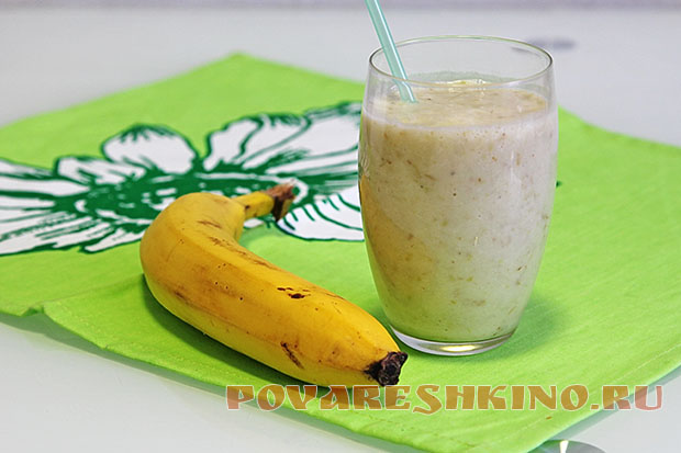 Виноградно-банановый смузи