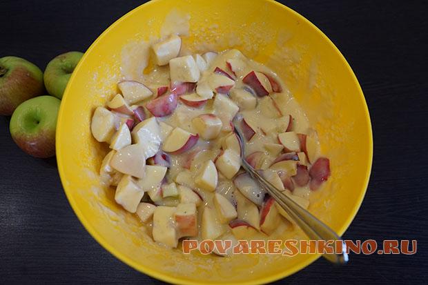 Очень вкусная шарлотка – простейший рецепт!