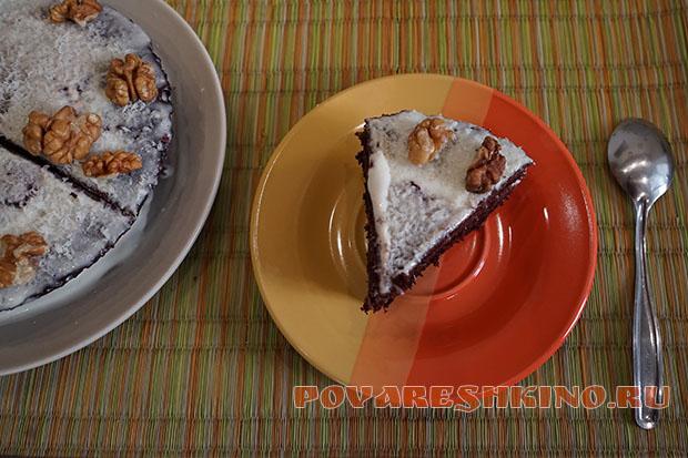 Шоколадный торт в микроволновке за 5 минут!